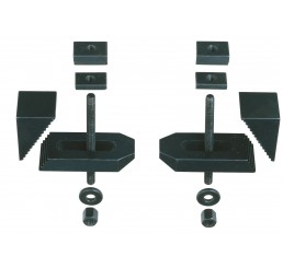 Milled steel step clamps