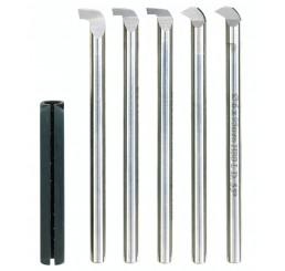 HSS boring tool set, 6 pieces