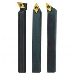 Cutter set with tungsten inserts