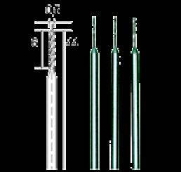HSS Drill Bits (3mm / Ø 3) [Pack Of 2]