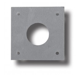 Stainless Steel Scar plate (75x75 with Holes)