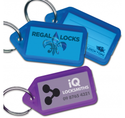 Custom Key Tag Inserts (pack of 260)