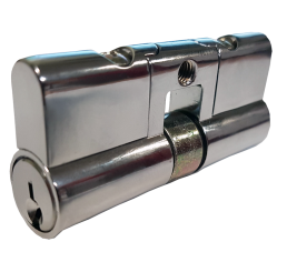 Double Euro Fixed Cylinder - Keyed to Differ