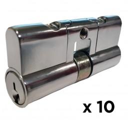 10 PACK 5 Pin Double Euro Lazy - Random Keyed Alike Group