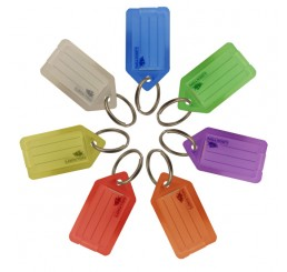 Key Tag With Paper Insert (pack of 20)