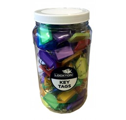 Key Tag Jar (175 x asst. key tags)