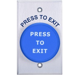 PUSH BUTTON 'PUSH TO EXIT'