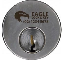 Round Cylinder - Keyed Alike - Engraved