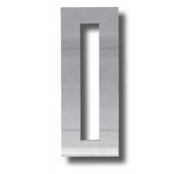 Stainless Steel Scar plate (195x75 with Mortice cut out)