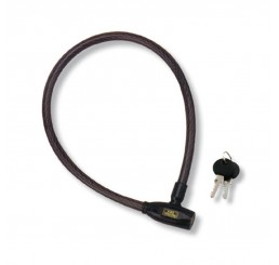 6 PIN CYL STRONG CABLE LOCK
