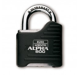 65mm ALPHA HIGH SEC. PADLOCK
